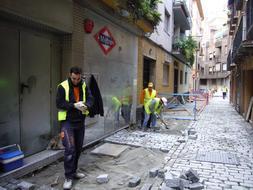 Acceso calle recogidas granada