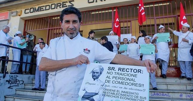 Los trabajadores de los comedores de la UGR se plantan y no ...