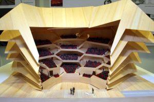 El Gran Teatro De La ópera Ya Tiene Forma Ideal