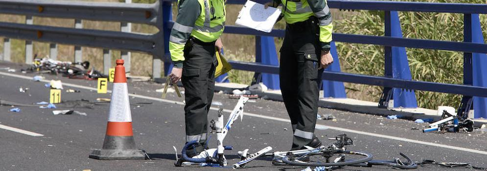 Muere uno de los ciclistas atropellados en Valencia que estaba ingresado en la UCI