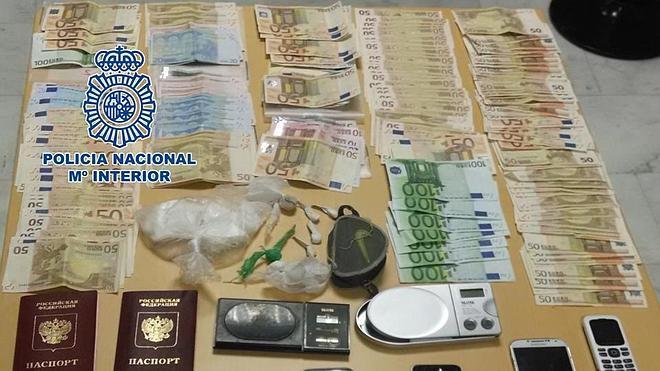 Cae una banda dedicada al tráfico de cocaína y éxtasis en Motril (Granada)