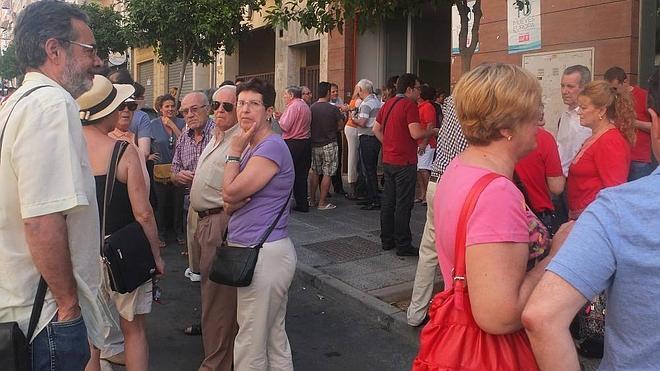Pedro Sánchez barre en Almería obteniendo casi el 70% de los votos