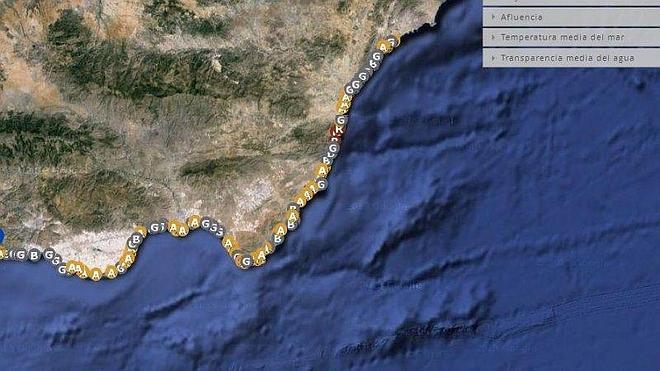 Todas las playas de Almería, en un solo click