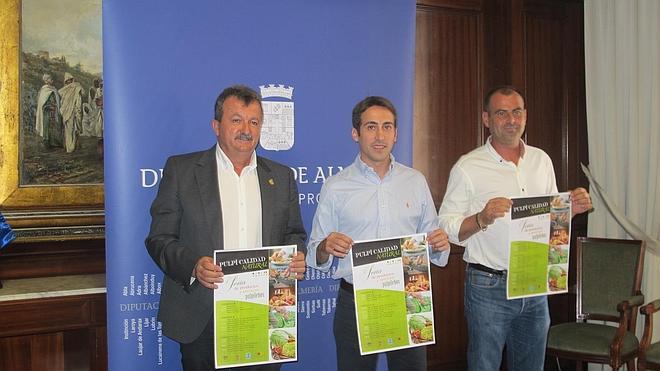 El finalista de Masterchef 2014 en la primera muestra hortofrutícola