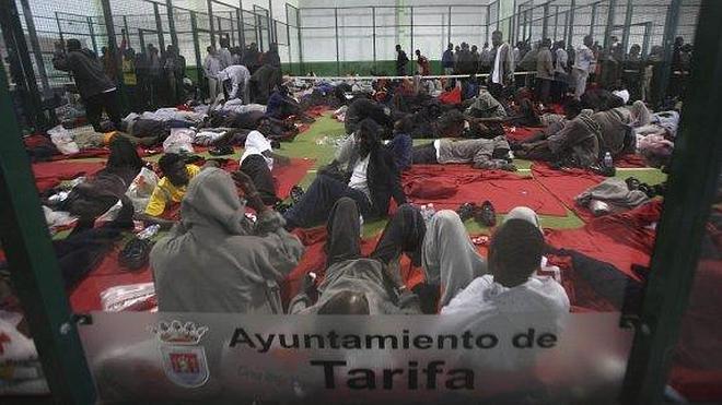 Marruecos desvía la presión a Tarifa