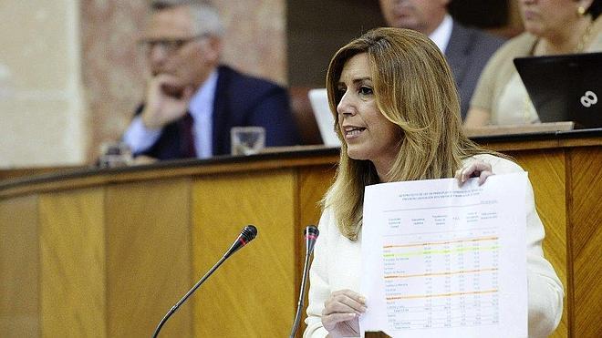 Susana Díaz elude hablar de agotar la legislatura