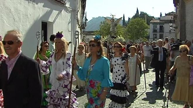 La romería de San Miguel recorrerá el domingo el Albaicín