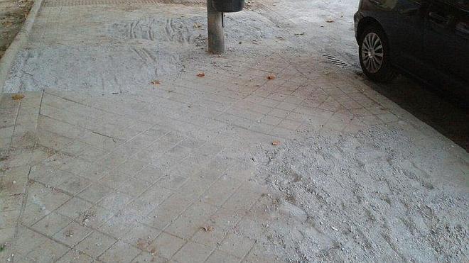 """IU denuncia el """"lamentable e inaccesible"""" estado del Camino Bajo de Huétor"""