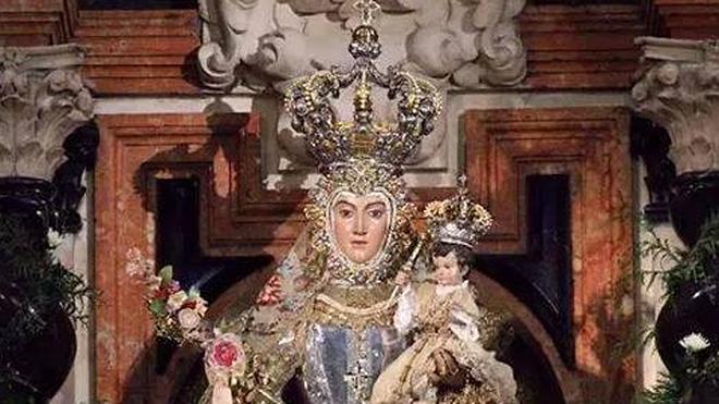 Hoy procesión de la Virgen del Rosario
