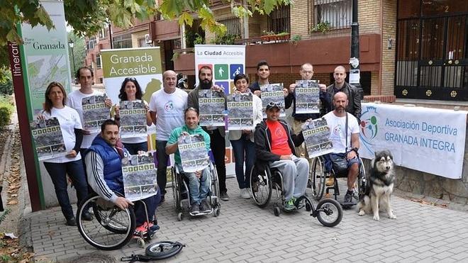 Se presentan los 'Paseos por una Granada Accesible'