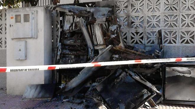 IU pide que se declare el Estado de Alarma en Vegas del Genil ante la oleada de vandalismo