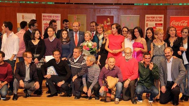 El presidente destaca los valores del deporte en la gala de clausura del XXVII Gran Premio de Fondo Diputación
