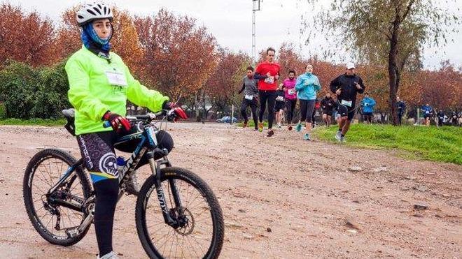 Rafael Martínez se impuso en la media maratón Mina's Running de Linares