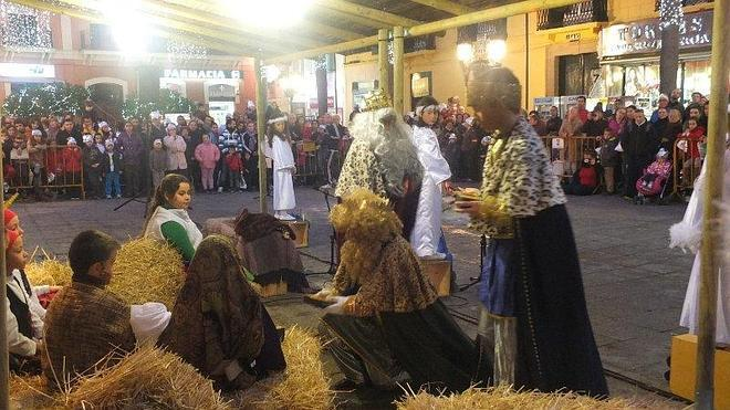 La participación popular desborda los actos navideños