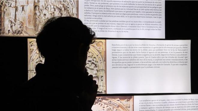 Las Capitulaciones, imán para cientos de visitantes del Museo de Almería