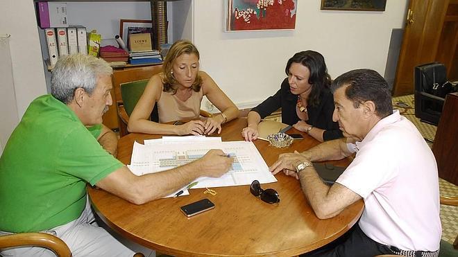 Los caseteros, preocupados por el retraso en el inicio de obras del ferial