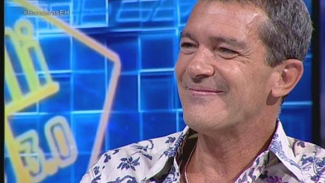 """Antonio Banderas arrasa en El Hormiguero: """"Ha sido un año muy fuerte pero la vida continúa"""""""