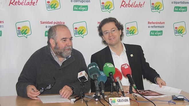 IU se propone presentar candidaturas en el 75% de los municipios de la provincia de Granada