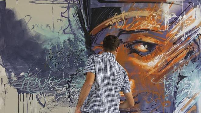 El Ayuntamiento libera ocho muros para los grafiteros