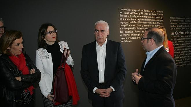 Alonso destaca que las Capitulaciones de Almería son un ejemplo de respeto y de convivencia entre sociedades distintas