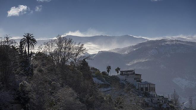 Granada, en alerta amarilla por bajas temperaturas
