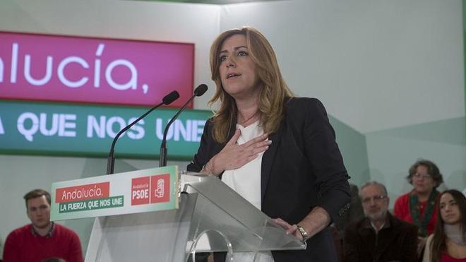 El PSOE de Susana Díaz ganaría en Andalucía