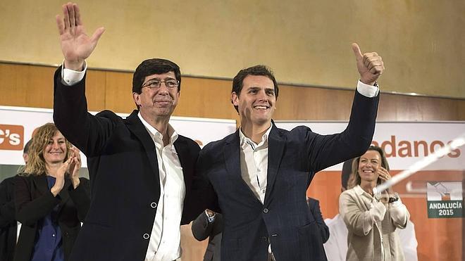 """Albert Rivera: """"Vamos a enseñar a pescar en Andalucía, no a repartir pescado"""""""