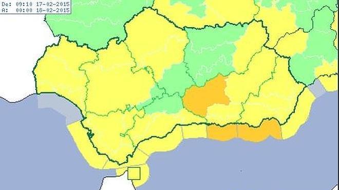 Almería, en alerta naranja por fenómenos costeros