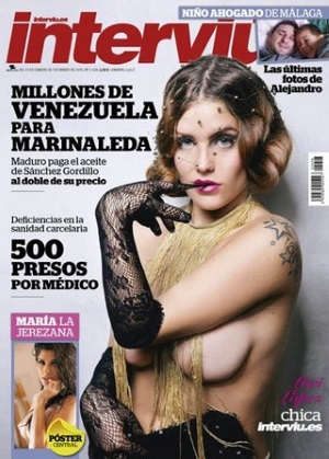Interviú Desnuda A La Sexy Y Polifacética Lucy López Chica