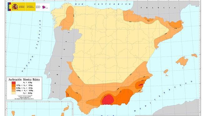 """Los cinco terremotos """"significativos"""" de Granada en los últimos cuatro años"""