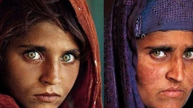 """La niña del National Geographic vive en la misma residencia """"ilegal"""" que cuando fue fotografiada"""