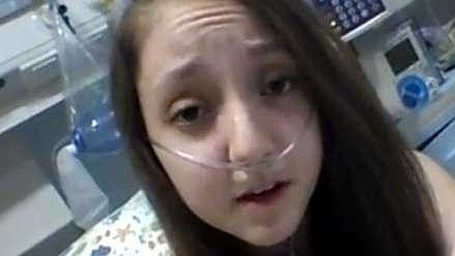 Una chilena de 14 años con fibrosis quística pide a la presidenta Bachelet que le ayude a morir