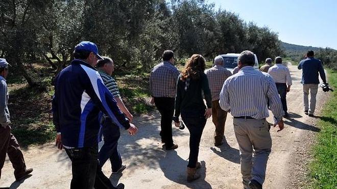 Fuente Camacho reclama una solución para su camino agrícola tras quince años sin mejoras