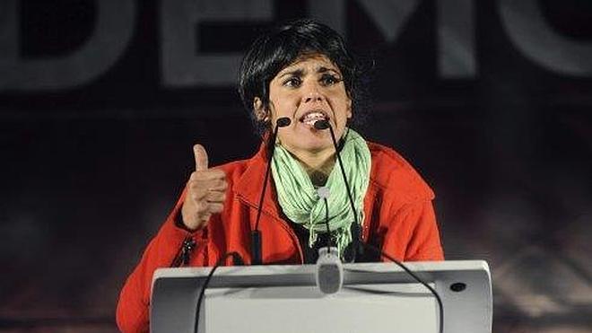Teresa Rodríguez llama al voto para Podemos porque es el partido de la «gente decente»