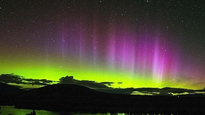 Una tormenta solar provoca espectaculares auroras boreales en Europa