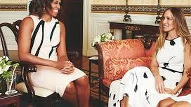 Michelle Obama se alía con Sarah Jessica Parker