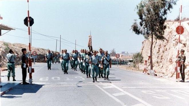 Veinte años de la Legión