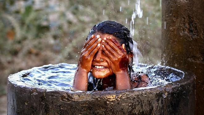 Las duchas de la miseria