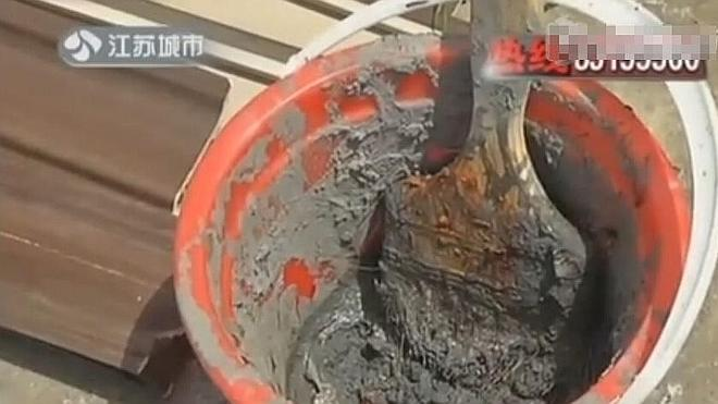 """Un chino se come 250 gramos de cemento fresco """"porque tenía hambre"""""""