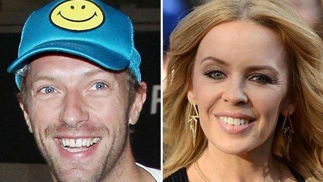 Tras Jennifer Lawrence, ¿Chris Martin, ahora con Kylie Minogue?