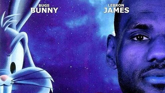 Habrá 'Space Jam 2': LeBron James y Bugs Bunny, un equipo imparable