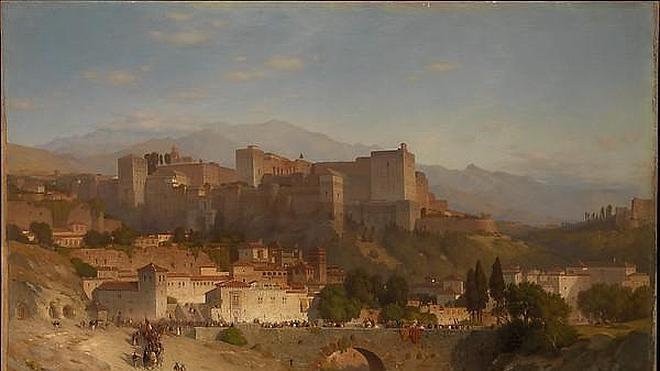 Diez pinturas de la Granada antigua vistas por artistas extranjeros