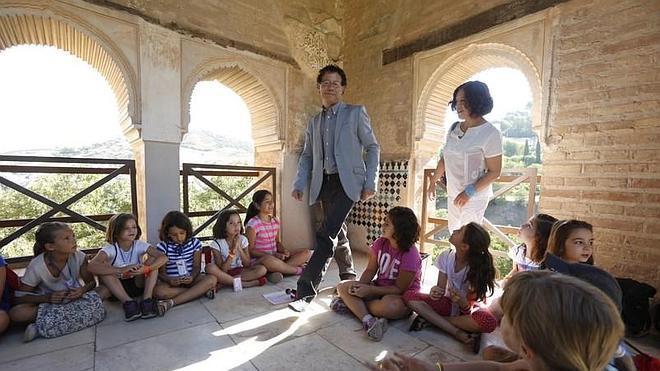 Descubrir la Alhambra a través de la mirada de un niño