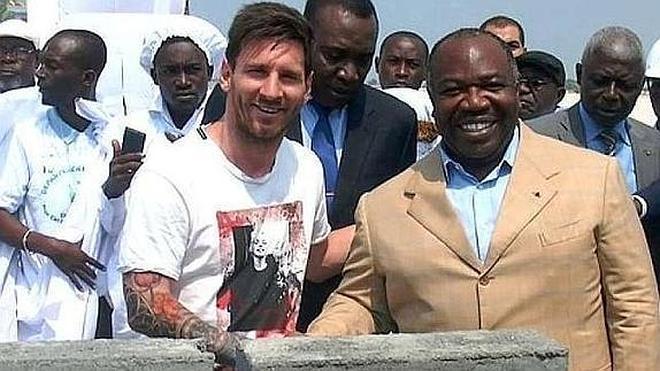 """Una ONG critica la visita de Messi a Gabón por respaldar la """"cruel y corrupta dictadura"""" del país"""