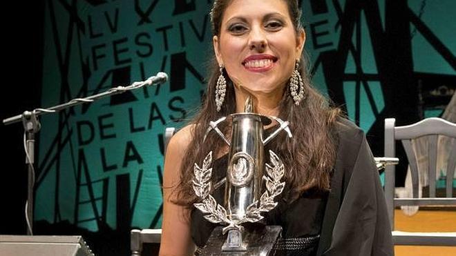 María José Pérez gana la Lámpara Minera del Cante de las Minas