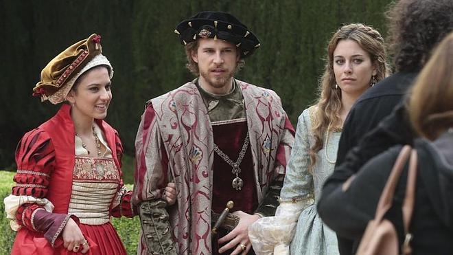 'Carlos, Rey Emperador': el encanto de Granada asalta la pequeña pantalla