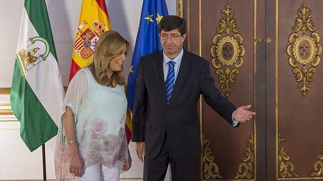Ciudadanos dice ahora que no vetará la comparecencia de Susana Díaz