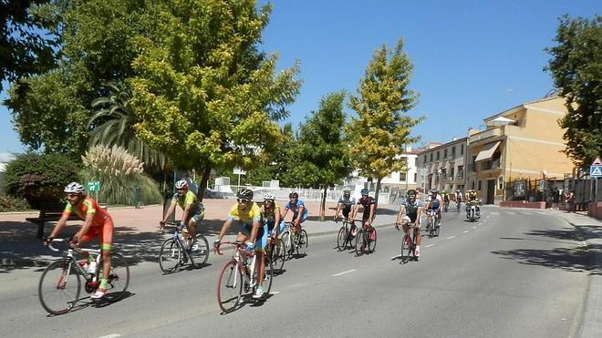 198 ciclistas se dieron cita en la XXIV Ruta Virgen de la Cabeza