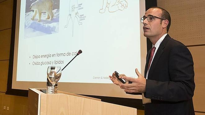 El investigador Jonatan Ruiz, premiado por su trabajo sobre la diabetes y la obesidad