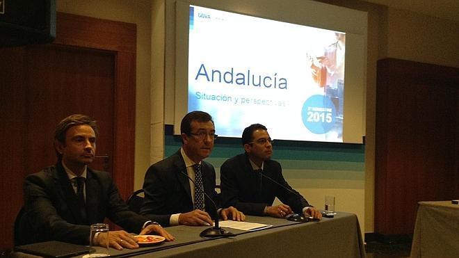 La economía andaluza crecerá un 3% en 2015 y sostiene sus expectativas para 2016, según el BBVA